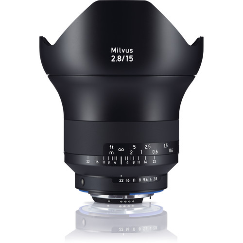 Zeiss Milvus 15mm f/2.8 ZF.2 Lens for Nikon F
