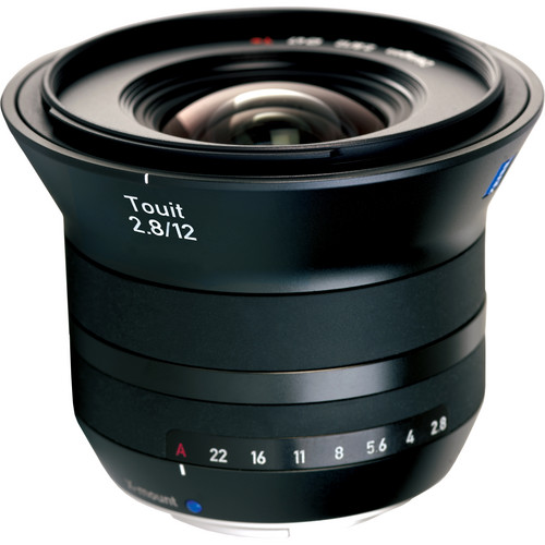Zeiss Touit 12mm f/2.8, 32mm f/1.8, and 50mm f/2.8M Lenses Kit for Fujifilm X