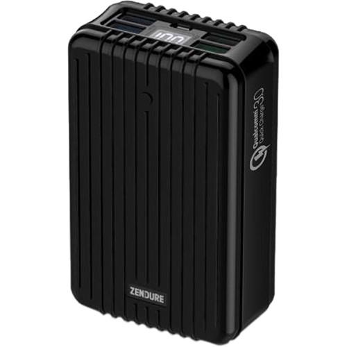 ZENDURE 26,800mAh A8 QC Portable Charger (Black)