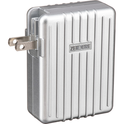ZENDURE A-Series 45W 4-Port USB Type-C Power Delivery Wall Charger (Silver)