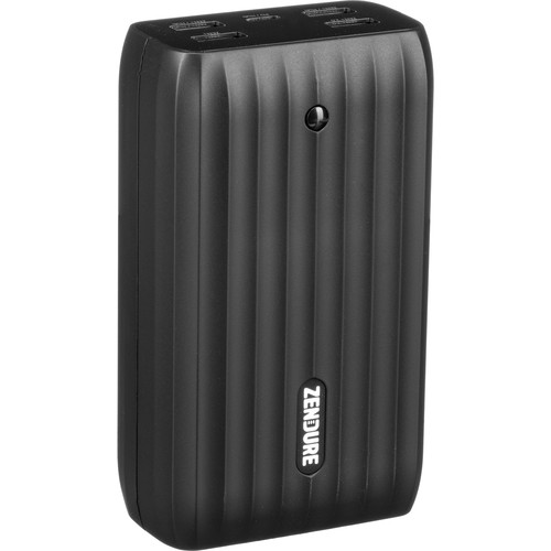 ZENDURE 20,100mAh X6 Power Bank and USB Hub with 45W Power Delivery & Quick Charge (Black)