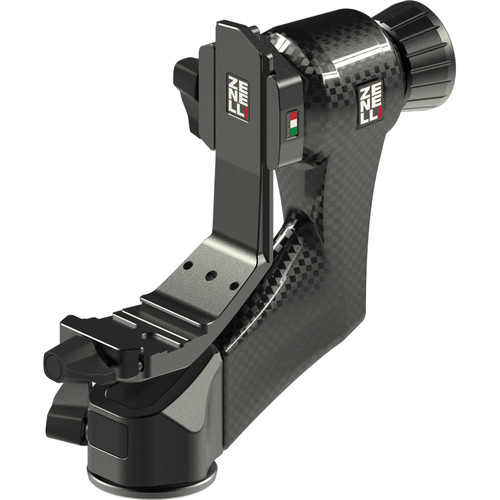 Zenelli CARBON ZC Carbon Fiber Compact Gimbal Head with QPS Plate