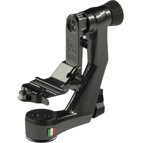 Zenelli CARBONZX Carbon Fiber Gimbal Head with Accessories