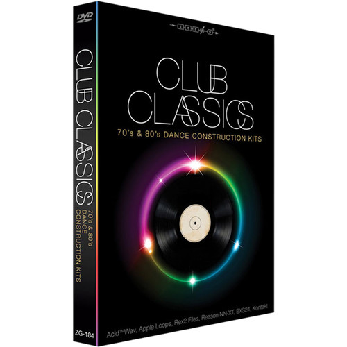 Zero-G Club Classics - Sample Library (Electronic Download)