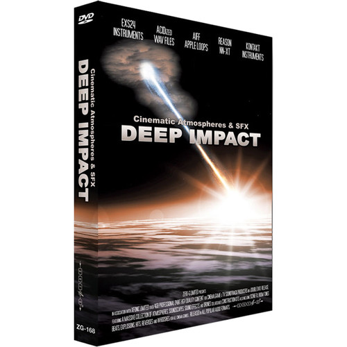 Zero-G Deep Impact: Cinematic Atmospheres & SFX - Sample Library (Electronic Download)