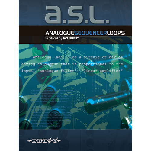 Zero-G A.S.L. Analogue Sequencer Loops Sample Library (Electronic Download)