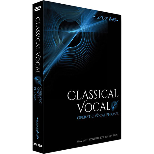 Zero-G Classical Vocal: Operatic Vocal Phrases - Sample Library (Electronic Download)