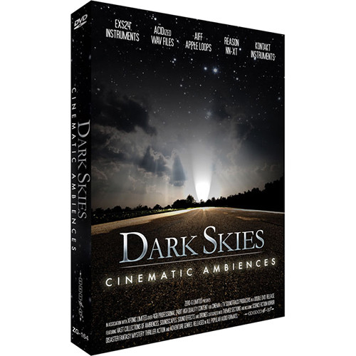 Zero-G Dark Skies: Cinematic Ambiences Sample Library (Electronic Download)