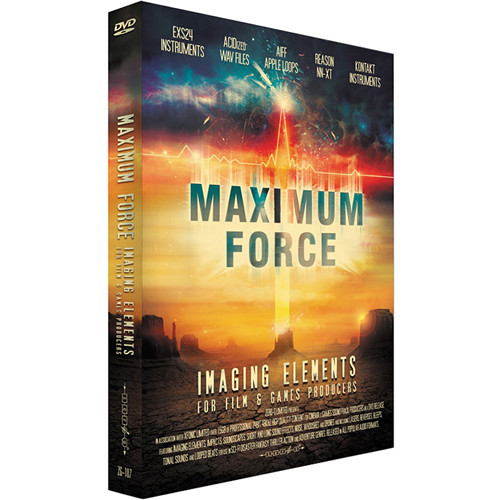 Zero-G Maximum Force: Imaging Elements Sample Library (Electronic Download)