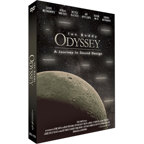 Zero-G Odyssey: A Journey in Sound Design - Sample Library (Electronic Download)