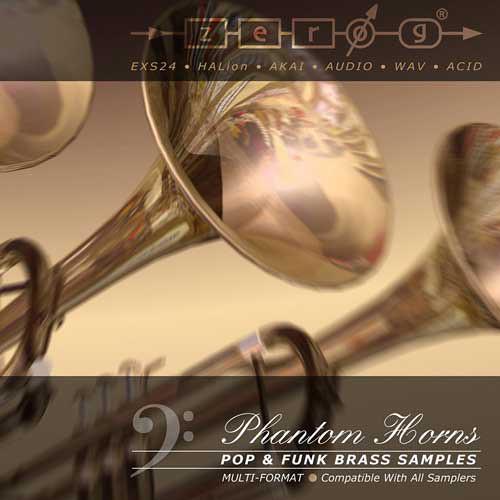 Zero-G Phantom Horns Sample Library (Electronic Download)