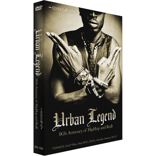 Zero-G Urban Legend - Sample Library (Electronic Download)