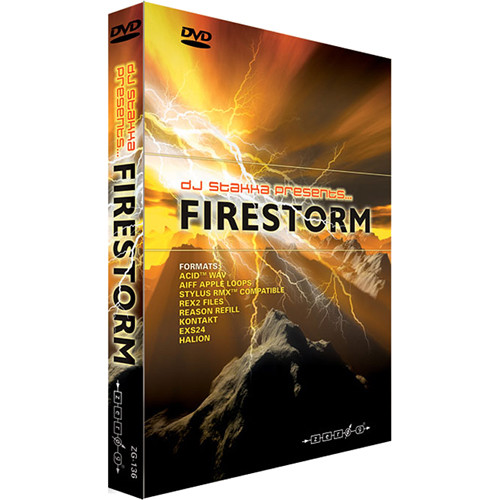 Zero-G Firestorm Sample Library (Electronic Download)