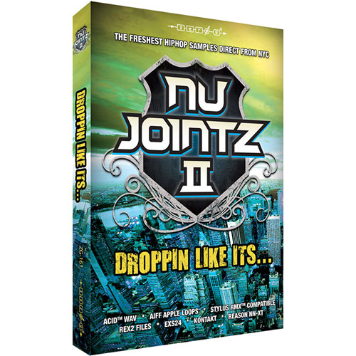Zero-G Nu Jointz 2: Droppin' Like It's.. - Sample Library (Electronic Download)