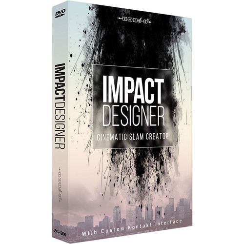 Zero-G Impact Designer - Sample Library (Electronic Download)