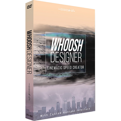 Zero-G Whoosh Designer - Sample Library (Electronic Download)