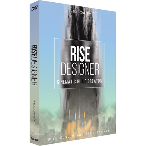 Zero-G Rise Designer - Sample Library (Electronic Download)