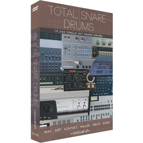 Zero-G Total Snare Drums - Sample Library (Electronic Download)