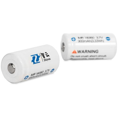 Zhiyun-Tech 18350 / 900mAh Li-Ion Battery-2-Pack