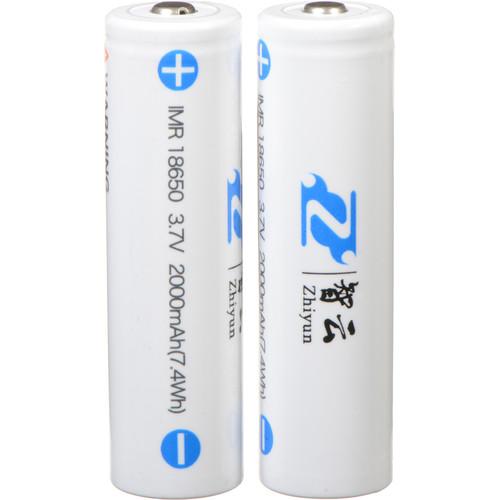 Zhiyun-Tech 3.7V, 2000mAh Li-Ion Batteries for Smooth-II, Evolution, Crane Version 1 (18650)