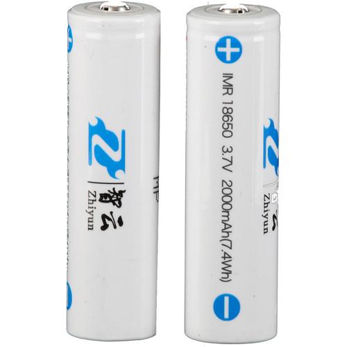 Zhiyun-Tech 18650 Li-Ion Battery for Z1 Crane v1 & Z1 Evolution Gimbal (2000mAh, Pair)