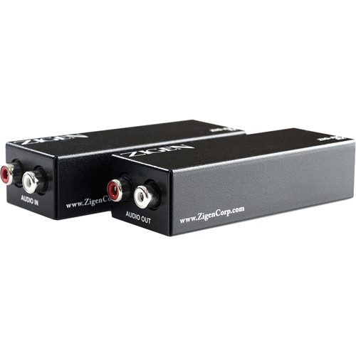 Zigen ZIG-AX Long Range Stereo Audio Extender Kit