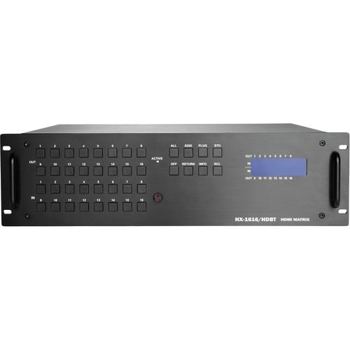 Zigen ZIG-HX-1616-HDBT 16x16 Modular HDMI HDbaseT Matrix Routing Switcher
