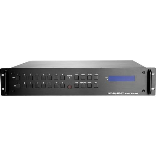 Zigen ZIG-HX-88-HDBTCH 8x8 Modular HDMI HDbaseT Matrix Routing Switcher