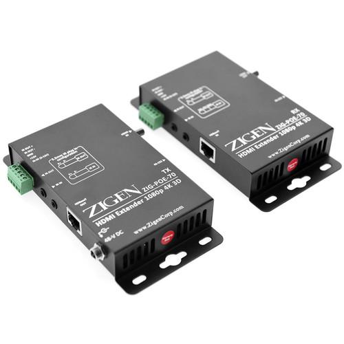 Zigen ZIG-POE-70 HDBaseT HDMI Extender (230')