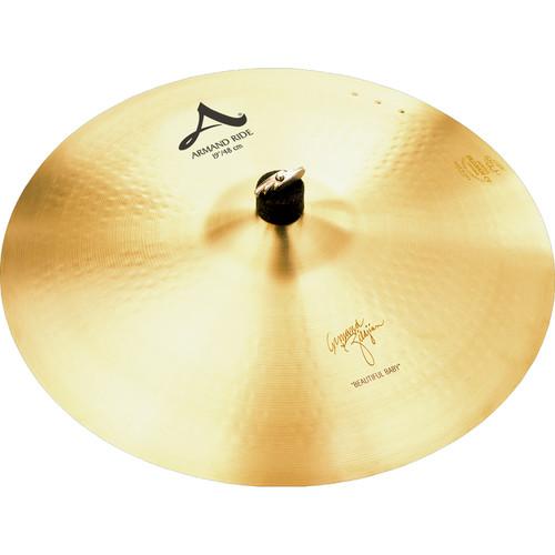 """Zildjian 19"""" A Zildjian Armand Zildjian Beautiful Baby Ride Cymbal"""