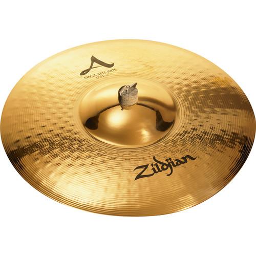 "Zildjian 21"" A Zildjian Mega Bell Ride Cymbal"