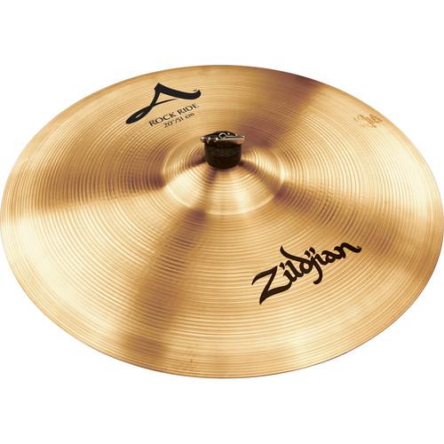 """Zildjian 20"""" A Zildjian Rock Ride Cymbal"""