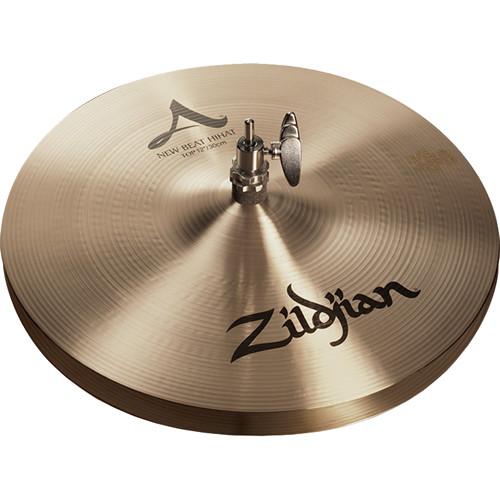 "Zildjian 12"" A Zildjian New Beat Hi-Hat Cymbals (Pair)"