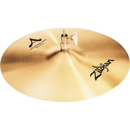 """Zildjian 14"""" A Zildjian Mastersound Hi-Hat Cymbal (Top)"""
