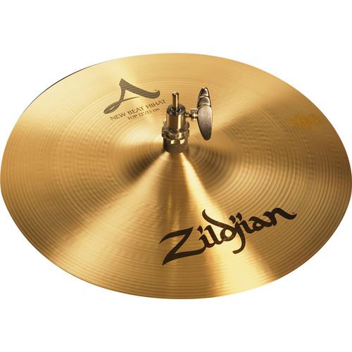 "Zildjian 13"" A Zildjian New Beat Hi-Hat Cymbals (Pair)"