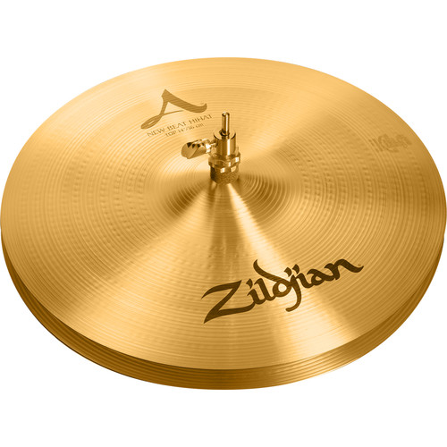 "Zildjian 14"" A Zildjian New Beat Hi-Hat Cymbals (Pair)"