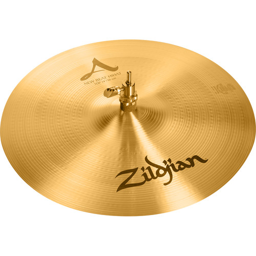 "Zildjian 14"" A Zildjian New Beat Hi-Hat Cymbal (Top)"