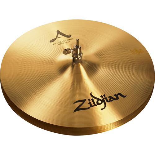 "Zildjian 15"" A Zildjian New Beat Hi-Hat Cymbals (Pair)"