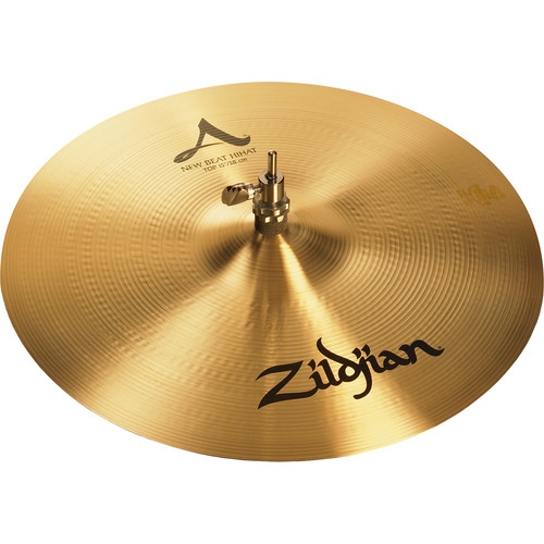 "Zildjian 15"" A Zildjian New Beat Hi-Hat Cymbal (Top)"