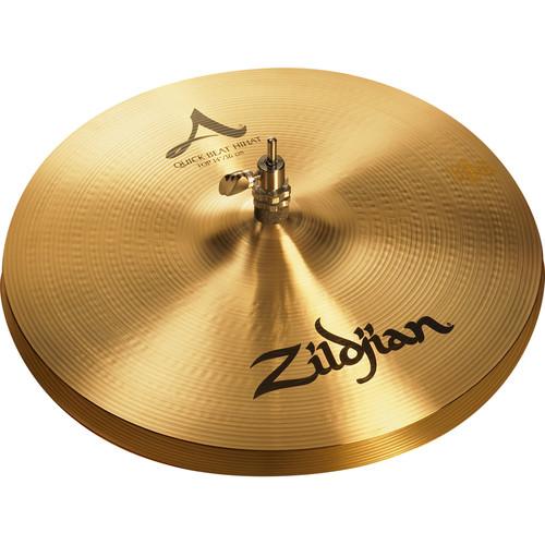 """Zildjian 14"""" A Zildjian Quick Beat Hi-Hat Cymbals (Pair)"""