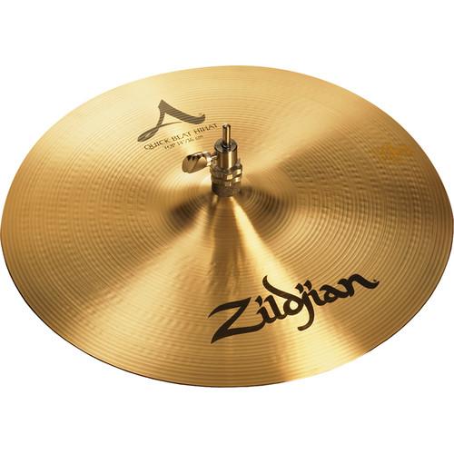 """Zildjian 14"""" A Zildjian Quick Beat Hi-Hat Cymbal (Top)"""