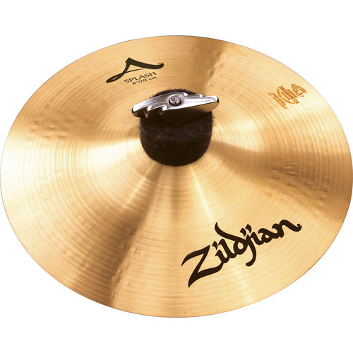 "Zildjian 8"" A Zildjian Splash Cymbal"