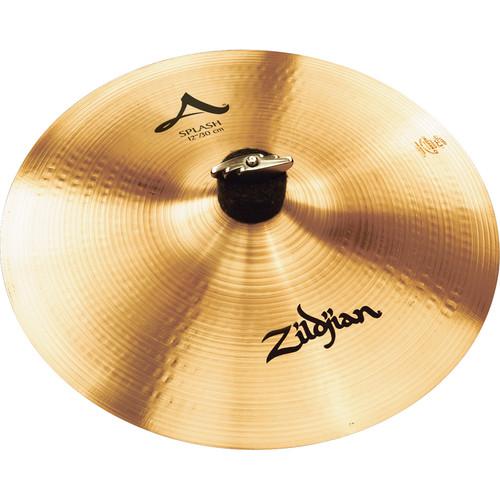 "Zildjian 12"" A Zildjian Splash Cymbal"