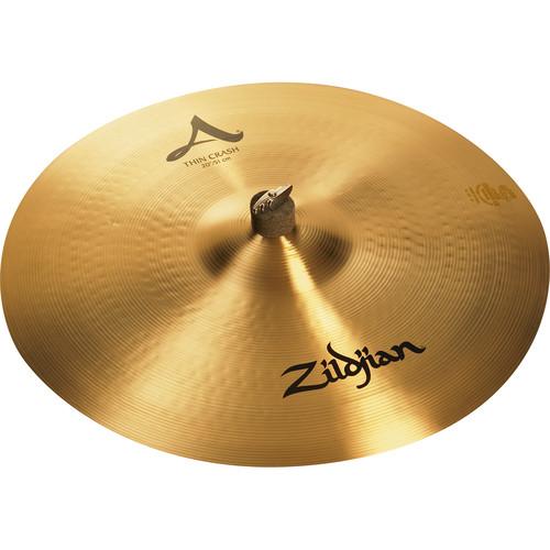 """Zildjian 20"""" A Zildjian Thin Crash Cymbal"""