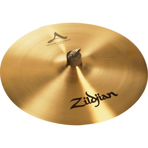 """Zildjian 16"""" A Zildjian Medium Thin Crash Cymbal"""