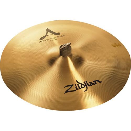 """Zildjian 18"""" A Zildjian Medium Thin Crash Cymbal"""