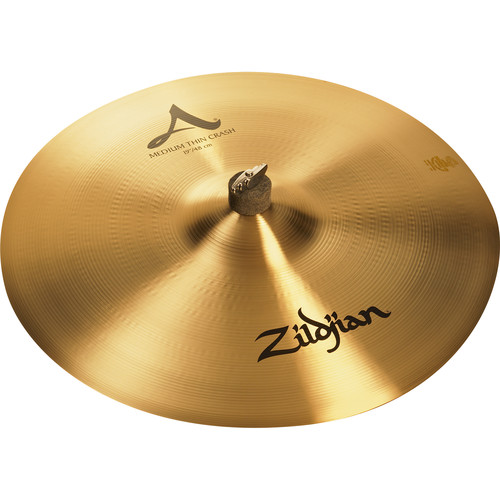 "Zildjian 19"" A Zildjian Medium Thin Crash Cymbal"