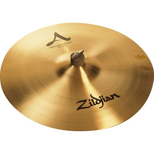 """Zildjian 18"""" A Zildjian Medium Crash Cymbal"""