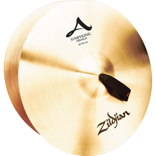 """Zildjian 18"""" A Zildjian Symphonic French Tone Cymbals (Pair)"""