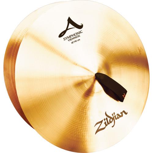 "Zildjian 18"" A Zildjian Symphonic Viennese Tone Cymbals (Pair)"